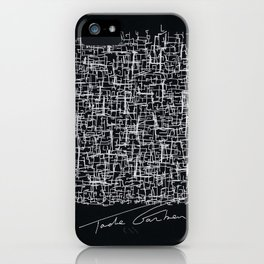 My brain from GoogleMaps iPhone Case
