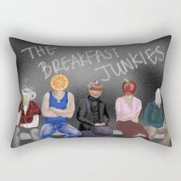 The Breakfast Junkies  Rectangular Pillow