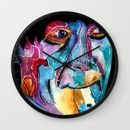 Second Doctor / Patrick Troughton Wall Clock