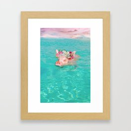 Whistle your soundtrack, daydream your future. Framed Art Print