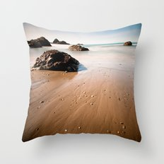 beach. Throw Pillow