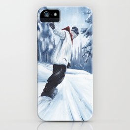 Dropping The Dream Forest iPhone Case