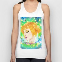 hayley williams Tank Tops featuring Digital Painting - Hayley Williams by EmmaNixon92
