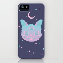 Pastel Cat iPhone Case