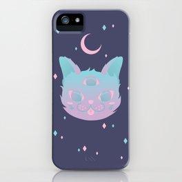 Pastel Cat iPhone Case