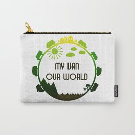 My Van Our World - Forest Carry-All Pouch