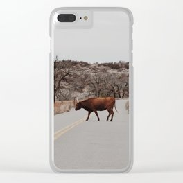 Longhorn Jam Clear iPhone Case