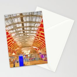 Paddington Railway Station Pop Art Stationery Cards