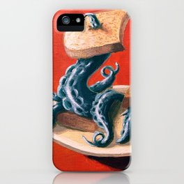 Tentacles On Toast iPhone Case
