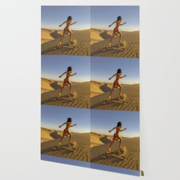 0811 Sandy Dune Nude | The Run Wallpaper