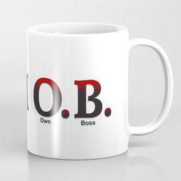 I AM O.B. Coffee Mug