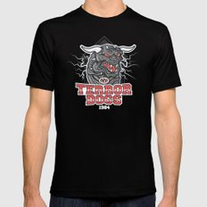 NY Terror Dogs Mens Fitted Tee 2X-LARGE Black
