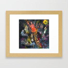 Expulsion Framed Art Print