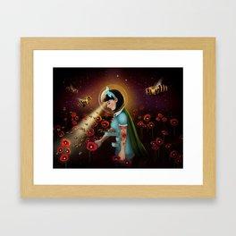 Oblivion: Anthophila I Framed Art Print