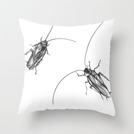 Cucaracha #8 Throw Pillow