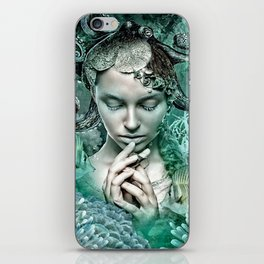Her love is secure like currents that hold tight iPhone Skin