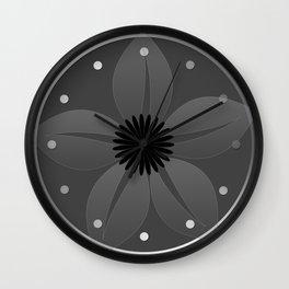 Cute Sheer Jasmin Flower Wall Clock