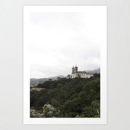 Ouro Preto Art Print
