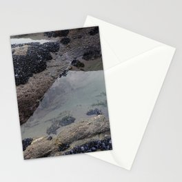 Rock Pool Amongst Mussel Beds Stationery Cards