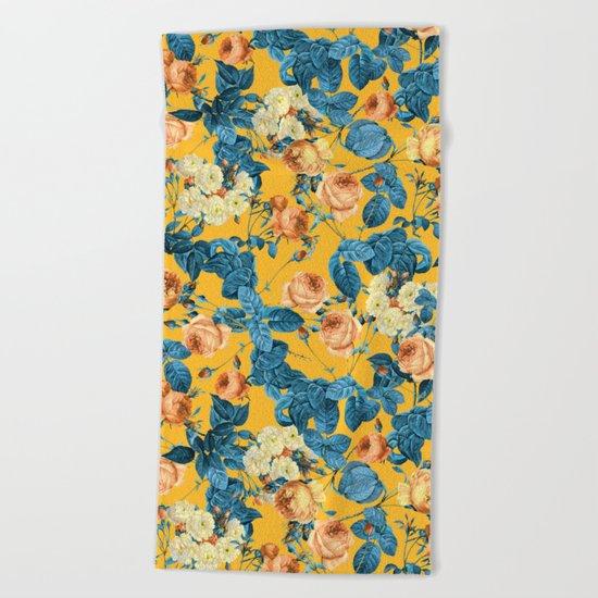 Summer Botanical II Beach Towel