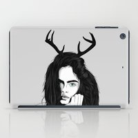 cara iPad Cases featuring Cara by Roland Banrevi