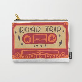 Retro Road Trip Mixtape Carry-All Pouch
