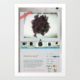 Proto-Wig Art Print