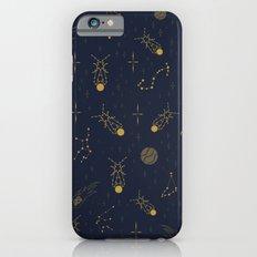 Golden Fireflies Constellations iPhone 6s Slim Case
