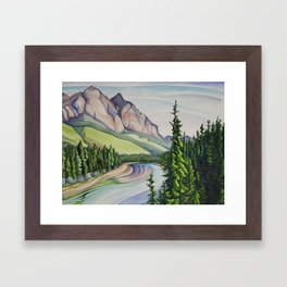 Rocky Mountain Majesty Framed Art Print