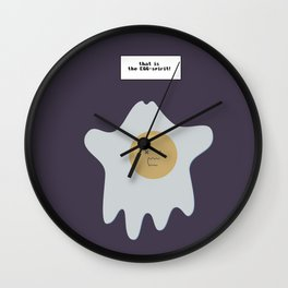 that is the EGG-spirit Wall Clock