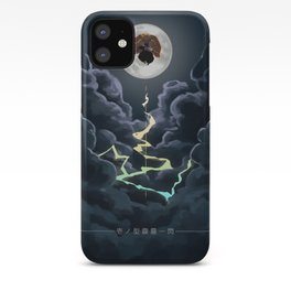 Zenitsu Moon iPhone Case