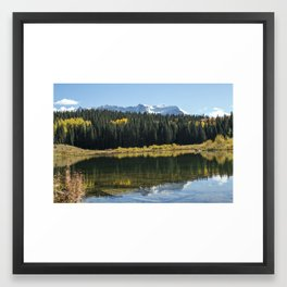 Fall Peace Framed Art Print