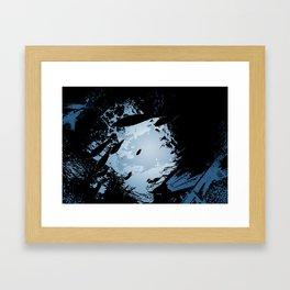 Svartur Sjor Framed Art Print