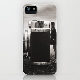 Looking Through Time iPhone Case