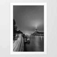 La Nuit Brumeuse Art Print