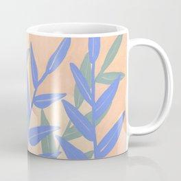 Peachy Leaves Coffee Mug
