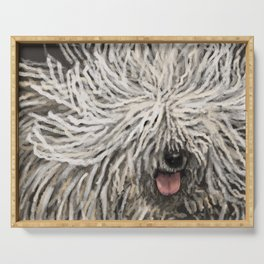 Komondor Serving Tray