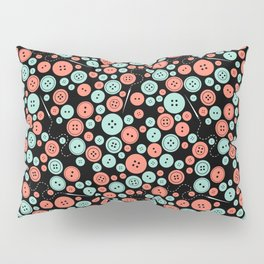 Sew Many Buttons Pillow Sham