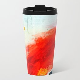 Study for Figure at the Base of a Crucifixion #2 Metal Travel Mug