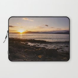 Summer Sunset Over Water Vancouver, British Columbia, Canada Laptop Sleeve