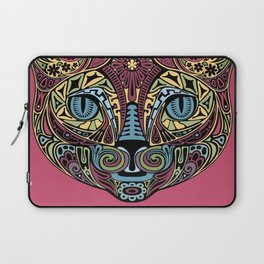 Cat Bedazzled #cat #Society6 #Geometric Laptop Sleeve