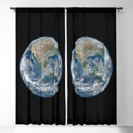 Planet Earth from Above Blackout Curtain