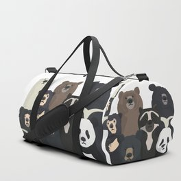 Bear family portrait Duffle Bag