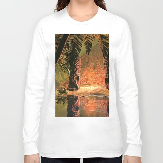 The magical temple Long Sleeve T-shirt
