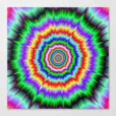 Eye Boggling Explosion Canvas Print