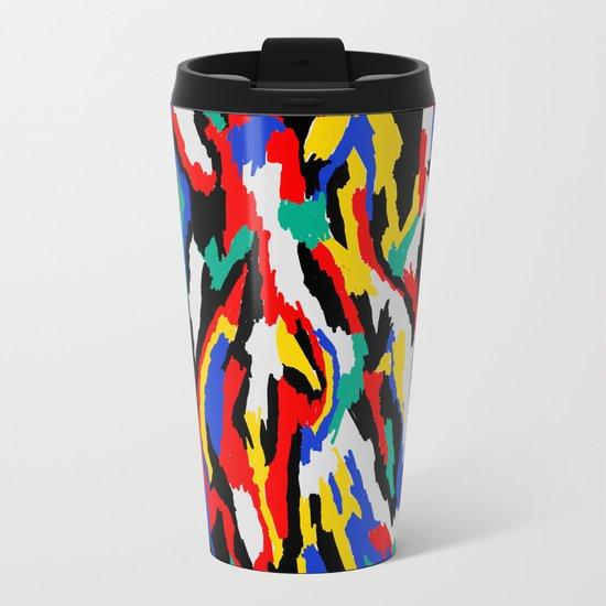 BAUHAUS CAMOUFLAGE Metal Travel Mug