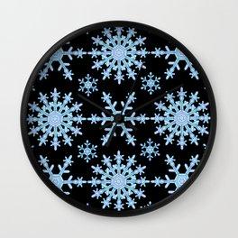 Let it Snow Mix 1 Midnight Version Wall Clock