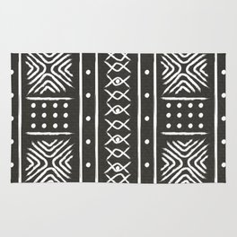 Another black mud cloth Rug