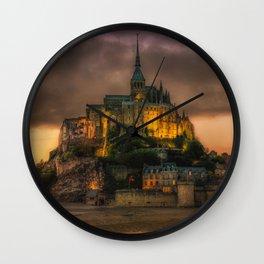Le Mont Saint-Michel Wall Clock