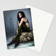Mermaid and the Lighthouse Stationery Cards